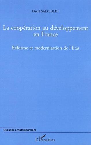 Couverture La coopération au développement en France