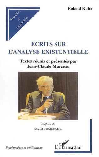Couverture Ecrits sur l'analyse existentielle
