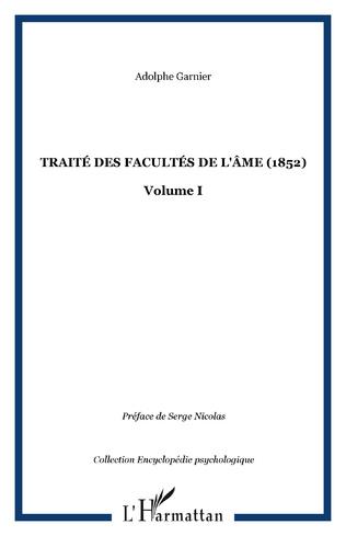 Couverture Traité des facultés de l'âme (1852)