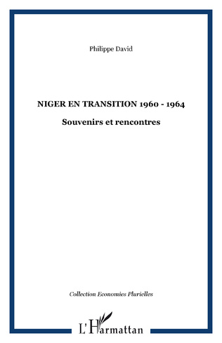 Couverture Niger en transition 1960 - 1964