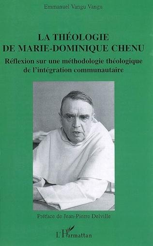 Couverture La théologie de Marie-Dominique Chenu