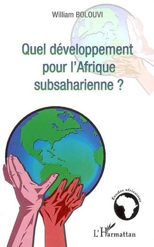 Couverture Quel développement pour l'Afrique subsaharienne ?
