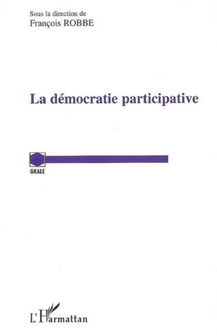 Couverture La démocratie participative
