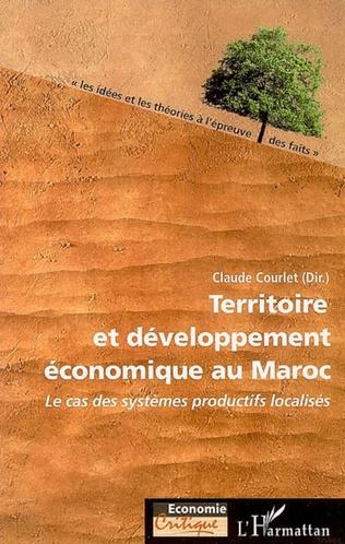Couverture Territoire et développement économique au Maroc