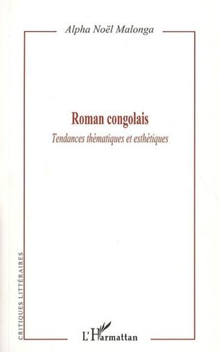 Couverture Roman congolais