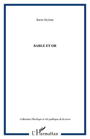 Couverture Sable et or