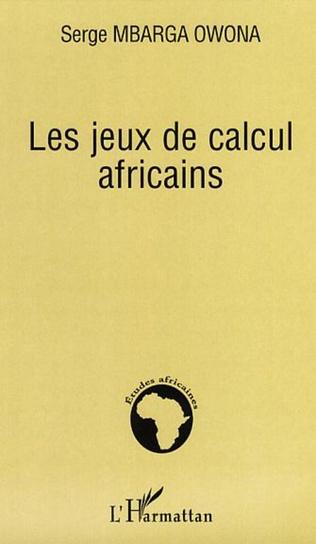 Couverture Les jeux de calcul africains