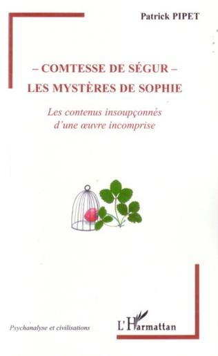 Couverture Comtesse de Ségur - Les mystères de Sophie