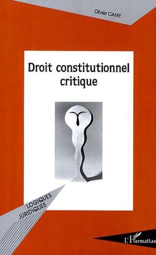 Couverture Droit constitutionnel critique