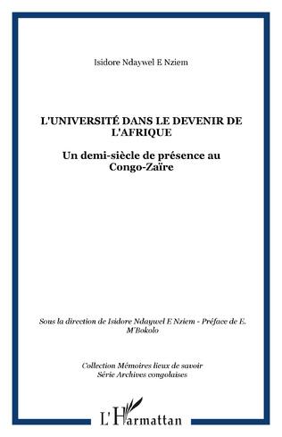 Couverture L'Université dans le devenir de l'Afrique