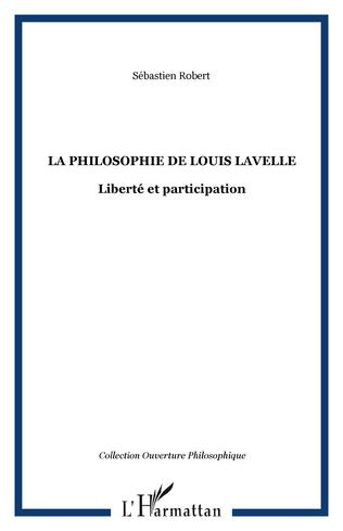Couverture La philosophie de Louis Lavelle
