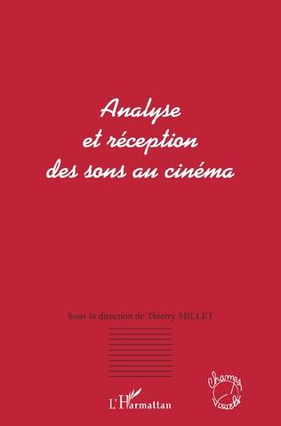 Couverture Analyse et réception des sons au cinéma