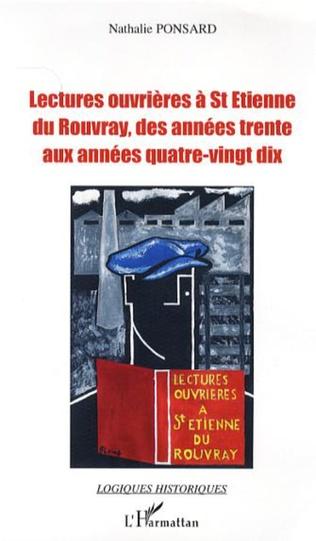 Couverture Lectures ouvrières à St-Etienne du Rouvray