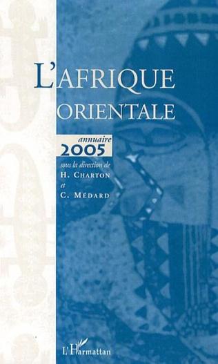 Couverture L'Afrique orientale annuaire 2005