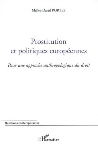 Couverture Prostitution et politiques européennes