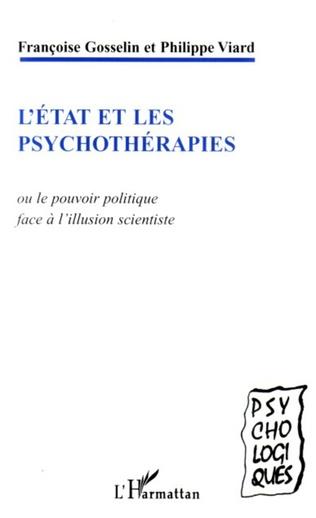 Couverture L'état et les psychothérapies