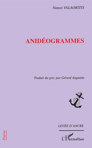 Couverture Anidéogrammes