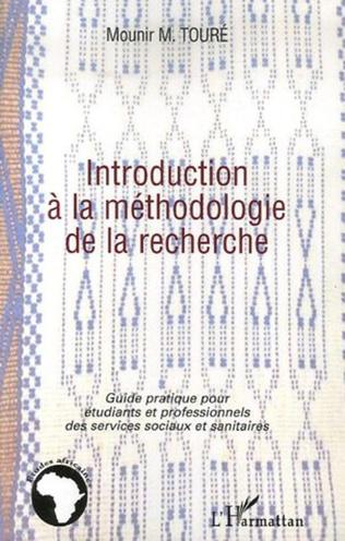 Couverture Introduction à la méthodologie de la recherche