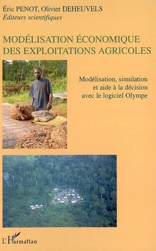 Couverture Modélisation économique des exploitatons agricoles