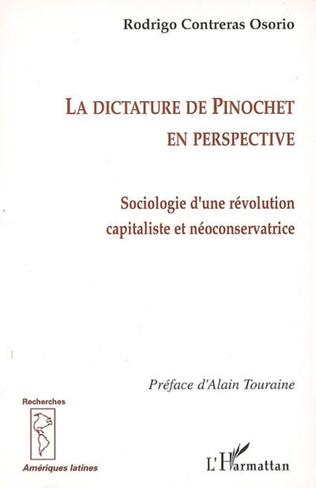 Couverture La dictature de Pinochet en perspective