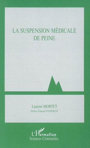 Couverture La suspension médicale de peine