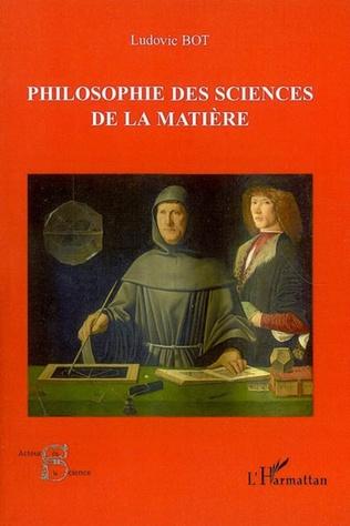 Couverture Philosophie des sciences de la matière
