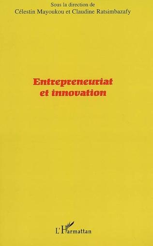 Couverture Entrepreneuriat et innovation