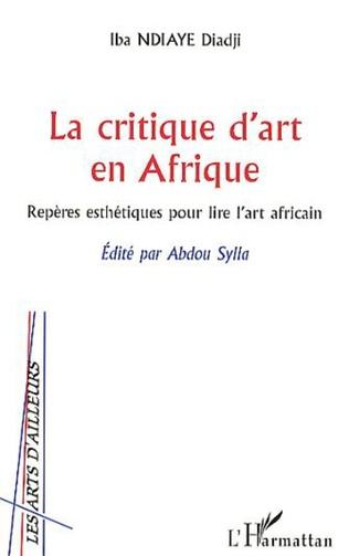 Couverture La critique d'art en Afrique