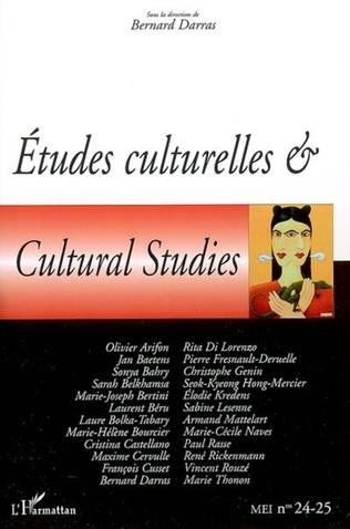 Couverture Etudes culturelles & Cultural Studies