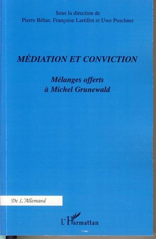 Couverture Médiation et conviction