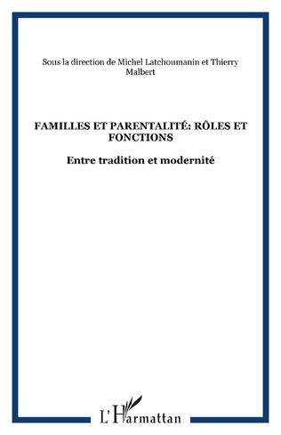 Couverture Familles et parentalité: rôles et fonctions
