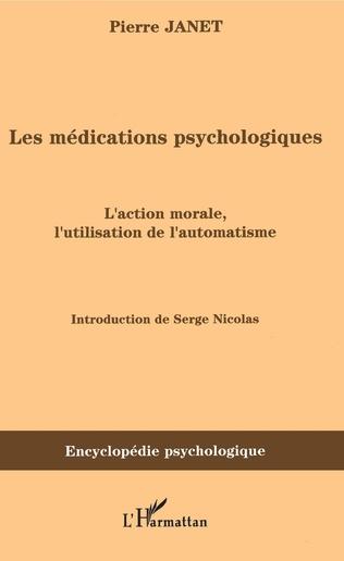 Couverture Les médications psychologiques (1919) vol. I