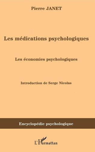 Couverture Les médications psychologiques (1919) vol. II