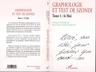 Couverture Graphologie et test de Szondi