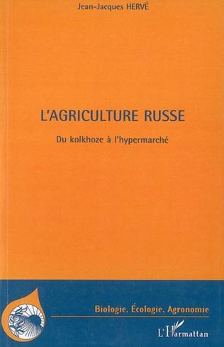 Couverture L'agriculture russe