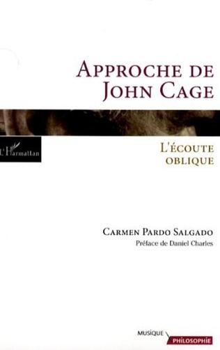Couverture Approche de John Cage