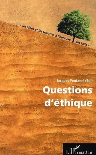 Couverture Questions d'éthique