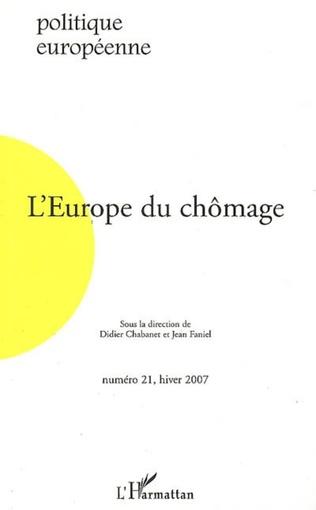 Couverture PLEIN-EMPLOI OUCHOMAGE NECESSAIRE: LA STRATEGIE EUROPEENNE POUR L'EMPLOI, ENTRE urOPIE ET PRAGMATISME