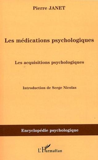 Couverture Les médications psychologiques (1919) vol.III