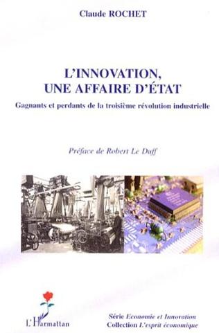 Couverture L'innovation, une affaire d'Etat