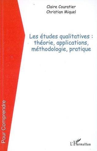 Couverture Les études qualitatives