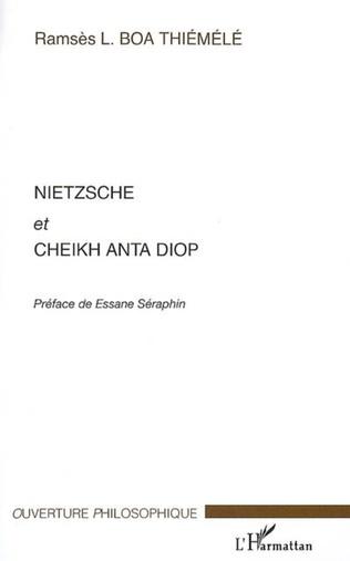 Couverture Nietzsche et Cheikh Anta Diop