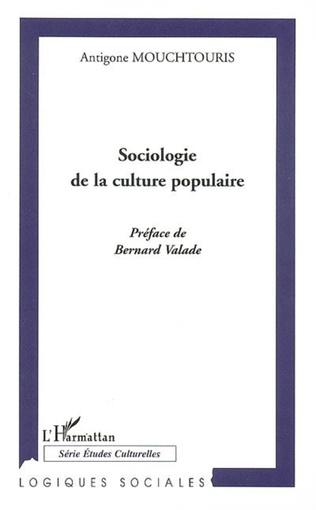 Couverture Sociologie de la culture populaire