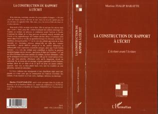Couverture La construction du rapport à l'écrit
