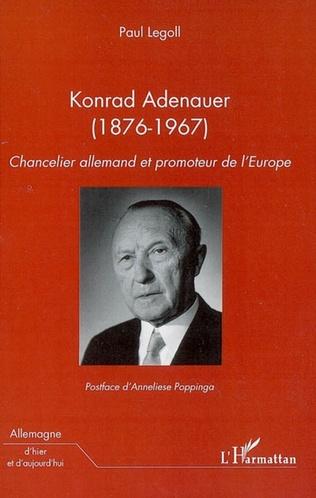 Couverture Konrad Adenauer (1876-1967)