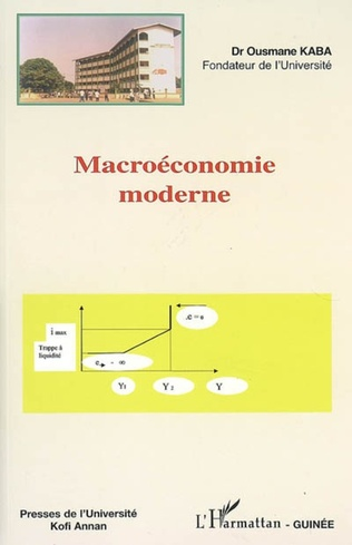 Couverture Macroéconomie moderne