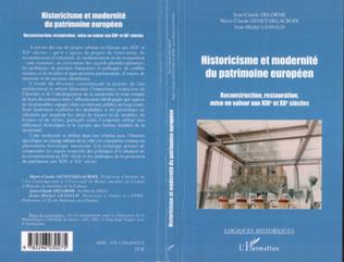 Couverture Historicisme et modernité du patrimoine européen