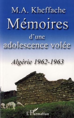 Couverture Mémoires d'une adolescence volée