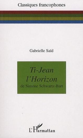 Couverture Ti-Jean l'Horizon