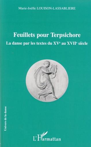 Couverture Feuillets pour Terpsichore